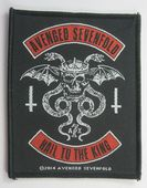Avenged Sevenfold - 'Hail to the King' Woven Patch